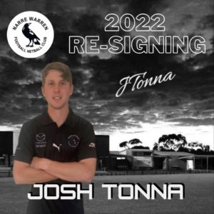 Joshua Tonna returns once again in the black and white for season 2022 🖤🤍 The quiet achiever on the team, JT get things done swiftly and accurately, which allows him to be able to play wherever he wants 😉 We're looking forward to another year of watching him do his thing on the field 👏🏼 #narrelove