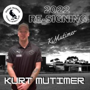 Big gun Kurt Mutimer has recommitted for season 2022, playing his heart out for his roots club 🖤🤍 With an interrupted season last year due to injuries, we can't wait to see how unstoppable he'll be in full motion 💪🏼 #narrelove