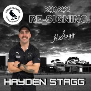 Stagga re-signs  We love having him back in the black and white & we can't wait to see what he can achieve with the boys in 2022