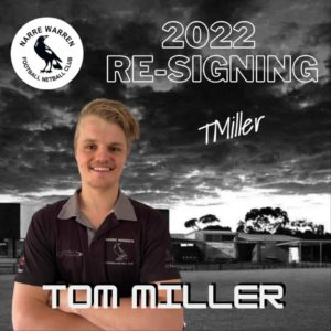 Up and coming star Tom Miller has signed on for the 2022 season. With some quality seasons under his belt already, Tom is one to look out for in the years to come  Looking forward to seeing him rep the black & white once again 🖤🤍