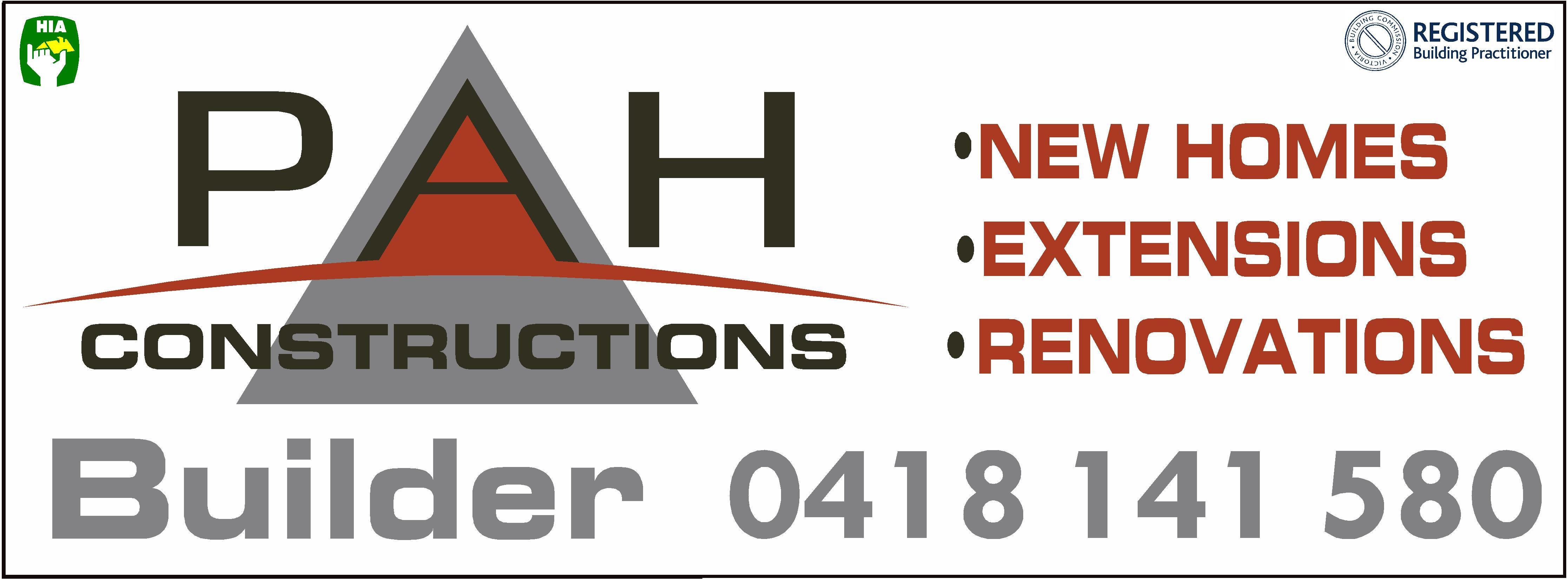 PAH Construction Logo